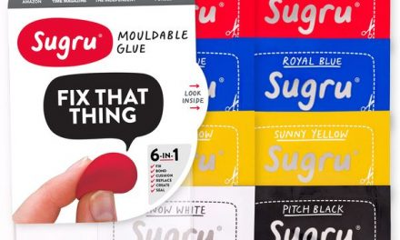 Sugru mouldable glue – hack it, stick it, fix it