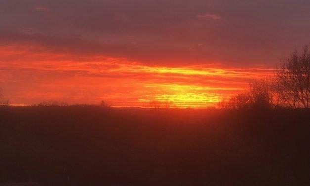 Sunset, music, blogs
