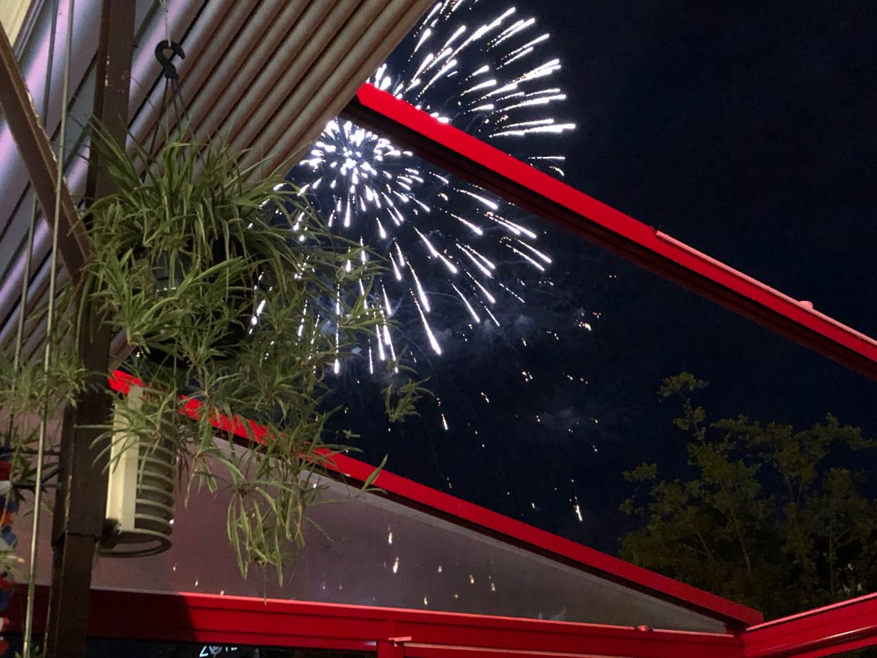 Bastille day fireworks 1